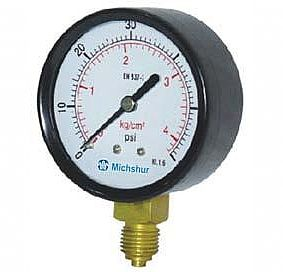 Type MP-122 - Pressure gauge with Bourdon mechanism
