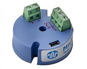 Type M-355 - The temperature transducer is electrically insulated for industrial head installation