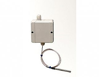 Type 126-I - A temperature transducer for outdoor installation built up of sealed box cable port and end sensing